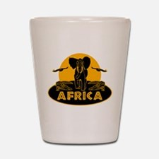 Africa Safari Shot Glass