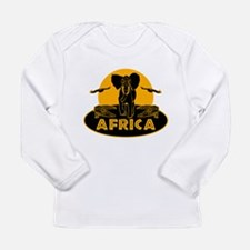 Africa Safari Long Sleeve Infant T-Shirt