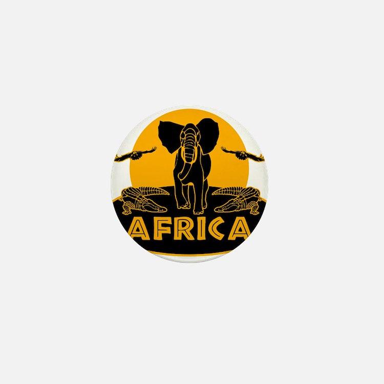 Africa Safari Mini Button