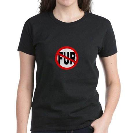 Anti Fur Women's Dark T-Shirt