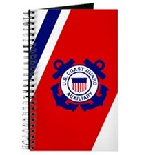 USCG Auxiliary Stripe<BR> Log Book