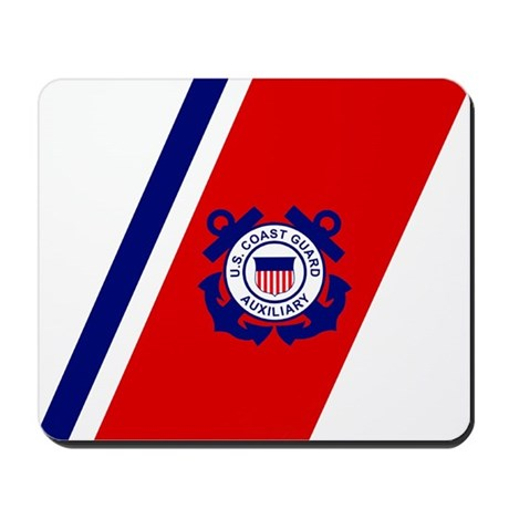 USCG Auxiliary Stripe<BR> Mousepad