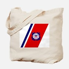 USCG Auxiliary Stripe<BR> Tote Bag