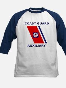 USCG Auxiliary Stripe<BR> Kids Blue Jersey 2