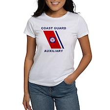 USCG Auxiliary Stripe<BR> Tee 2