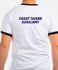 USCG Auxiliary Stripe<BR> Blue Ringer 3