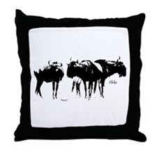 The Herd - Throw Pillow