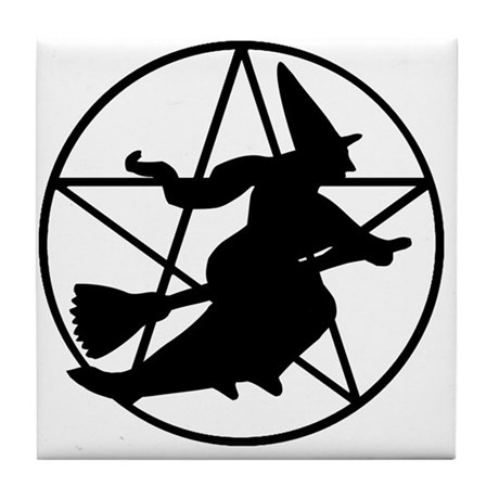 Real Witch - Tile Coaster