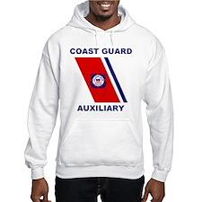 USCG Auxiliary Stripe<BR> Hoodie 2