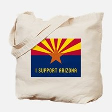 I Support Arizona Tote Bag