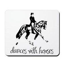 Dances With Horses Mousepad