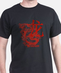 Red Year Of The Dragon T-Shirt