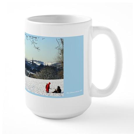 snow scene oxford