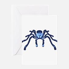 Cobalt Blue Taranchula Greeting Card