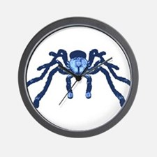 Cobalt Blue Taranchula Wall Clock