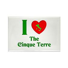I Love the Cinque Terre Rectangle Magnet