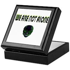 we are not alone Keepsake Box