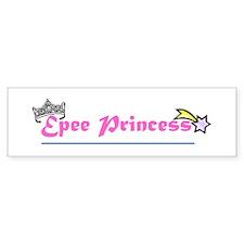 Epee Princess Bumper Car Sticker
