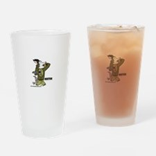 Buster Drinking Glass