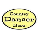 Country dance Bumper Stickers
