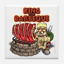 Dwarven BBQ King Tile Coaster
