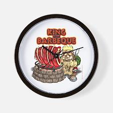 Dwarven BBQ King Wall Clock