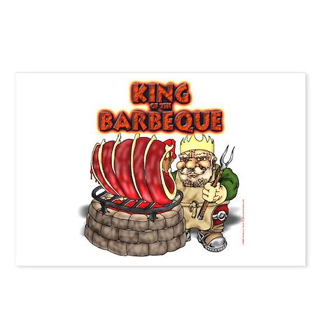 Dwarven BBQ King Postcards (Package of 8)