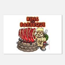 Dwarven BBQ King Postcards (Package of 8)