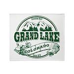 Grand Lake Old Circle Throw Blanket