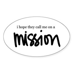 I hope the call me on a Missi Oval Decal