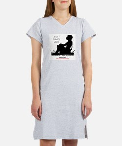 Funny Sexual abuse Women's Nightshirt