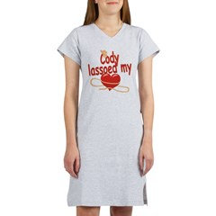 Cody Lassoed My Heart Women's Nightshirt