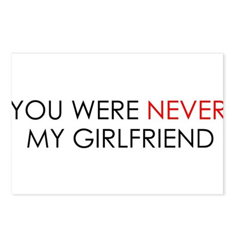 You Were Never My Girlfriend Postcards (Package of