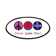 Peace Love Heal Patches