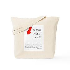 Mustard Seed Tote Bag