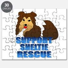 Support Sheltie Rescue Puzzle