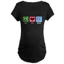 Peace Love ABC's T-Shirt