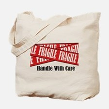 New Fragile Design Shirt Tote Bag