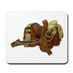 Old Western Saddle Mousepad
