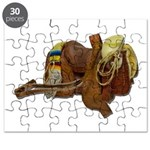 Old Western Saddle Puzzle