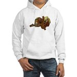 Old Western Saddle Hooded Sweatshirt