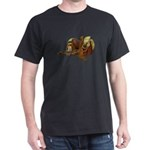 Old Western Saddle Dark T-Shirt