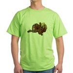 Old Western Saddle Green T-Shirt