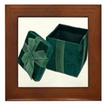 Open Velvet Gift Box Framed Tile