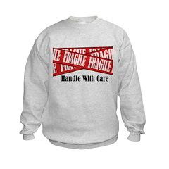 New Fragile Design Shirt Sweatshirt