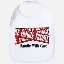 New Fragile Design Shirt Bib