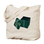 Open Velvet Gift Box Tote Bag