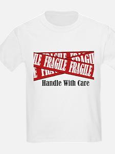 New Fragile Design Shirt Kids T-Shirt