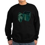 Open Velvet Gift Box Sweatshirt (dark)