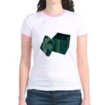 Open Velvet Gift Box Jr. Ringer T-Shirt